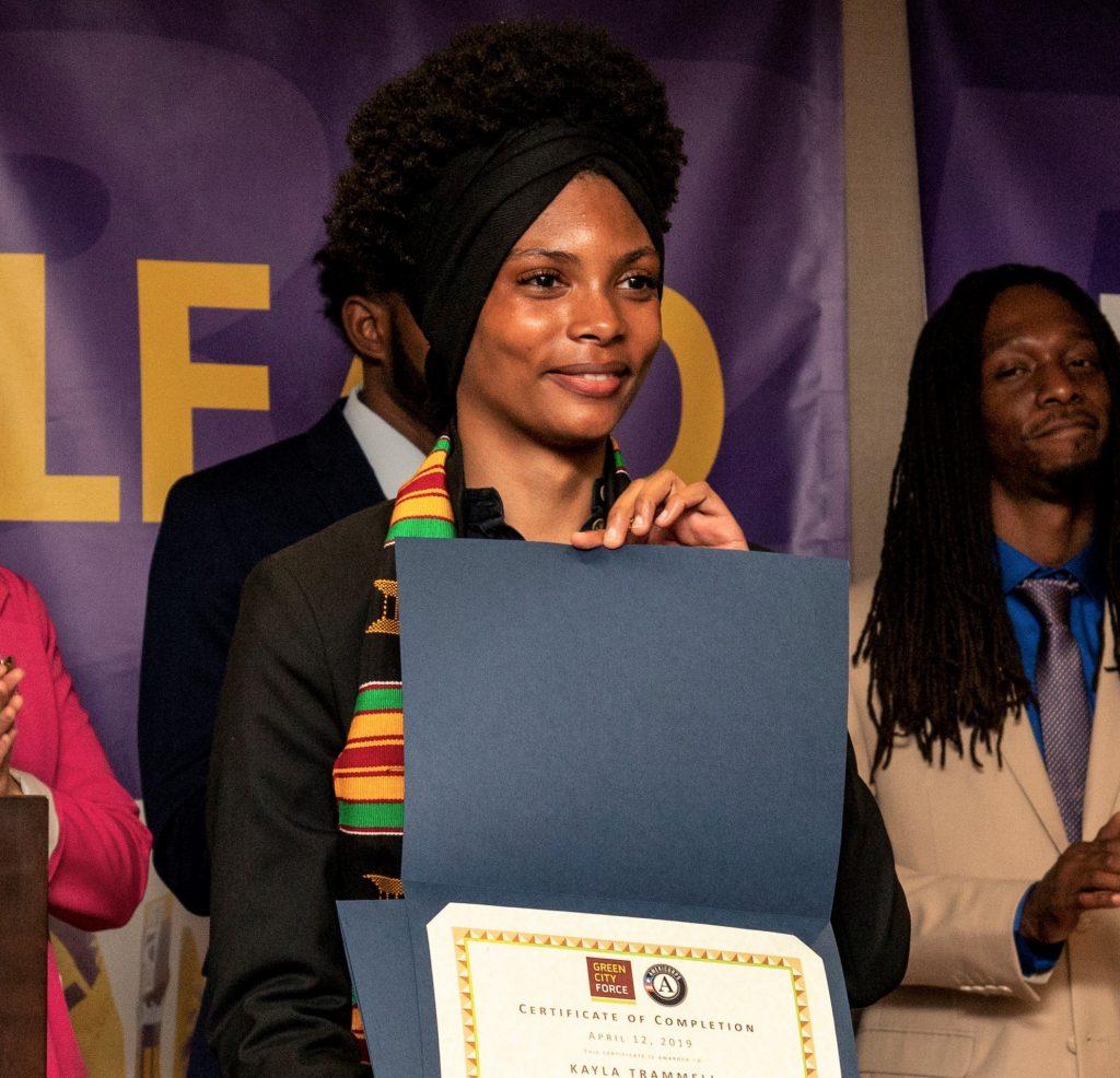 Graduate Speaker Kayla Trammell on Service