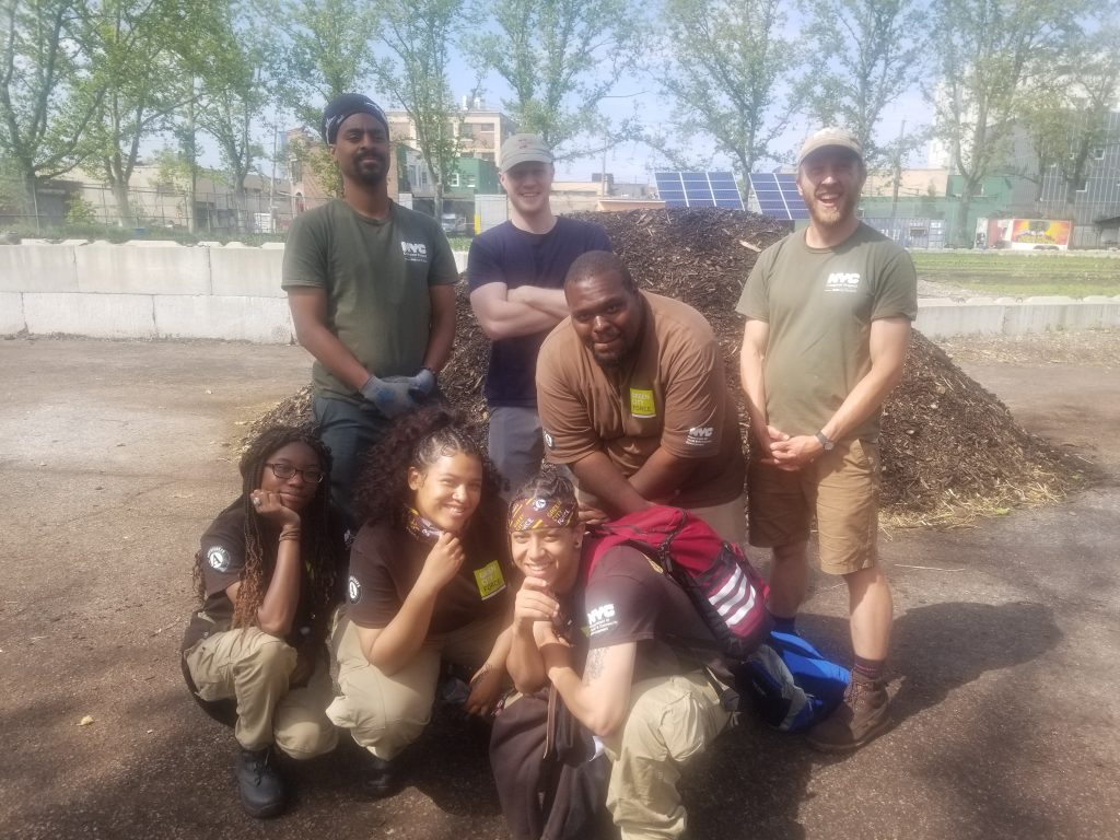 A Saturday at Red Hook's Compost Site
