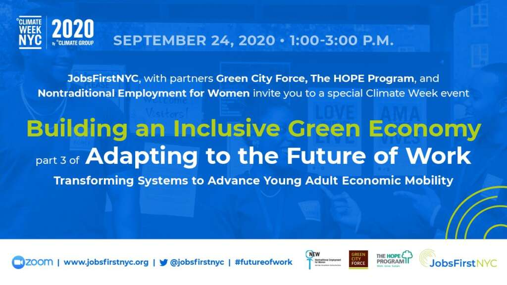 Join us on 9/24 for a #ClimateWeekNYC Event!