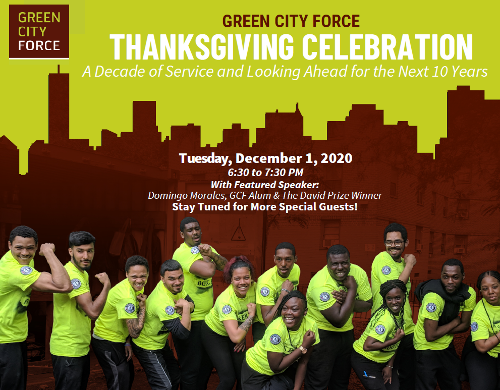 You're Invited! GCF's Thanksgiving Celebration on #GivingTuesday 12/1
