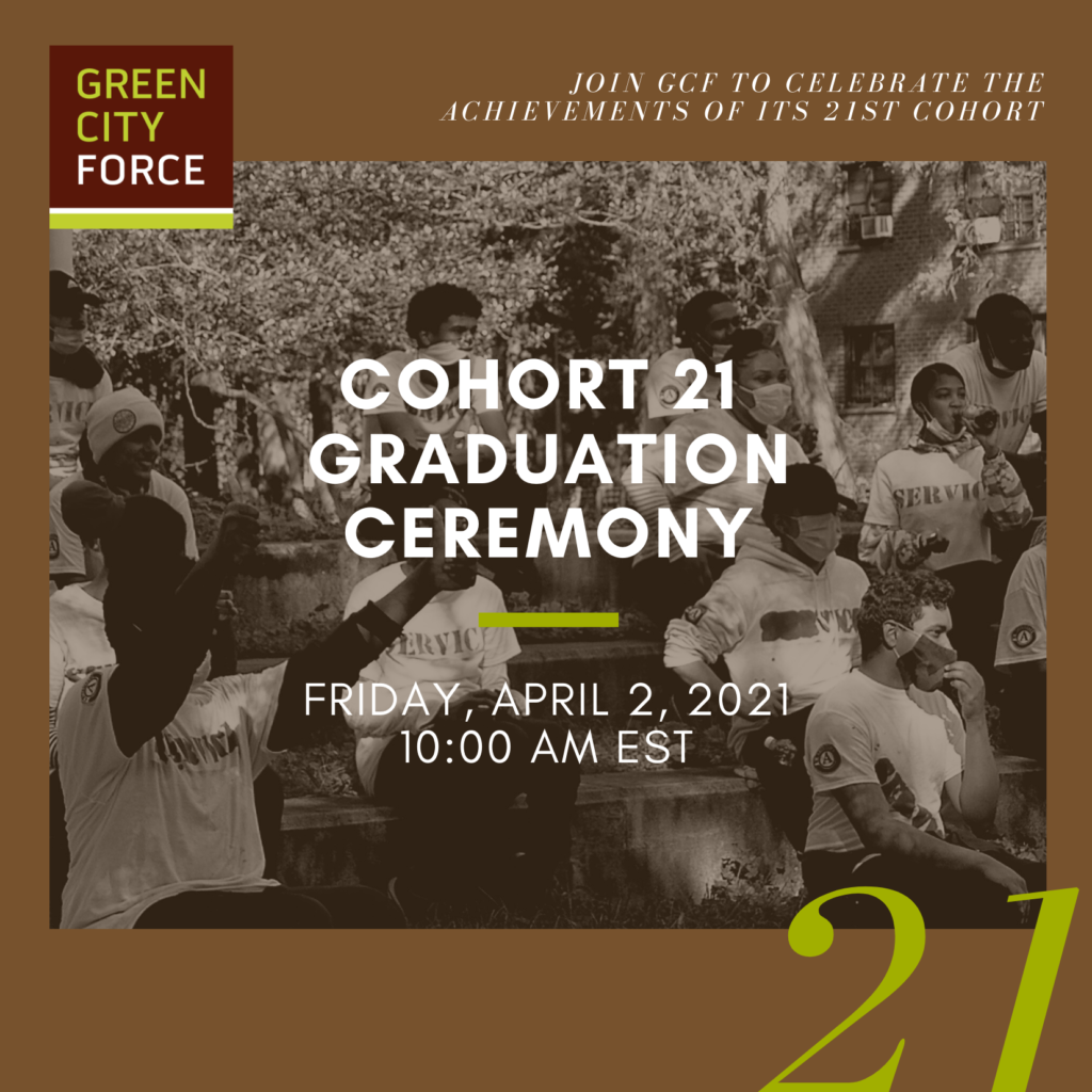 You're Invited to Cohort 21's Graduation Ceremony!