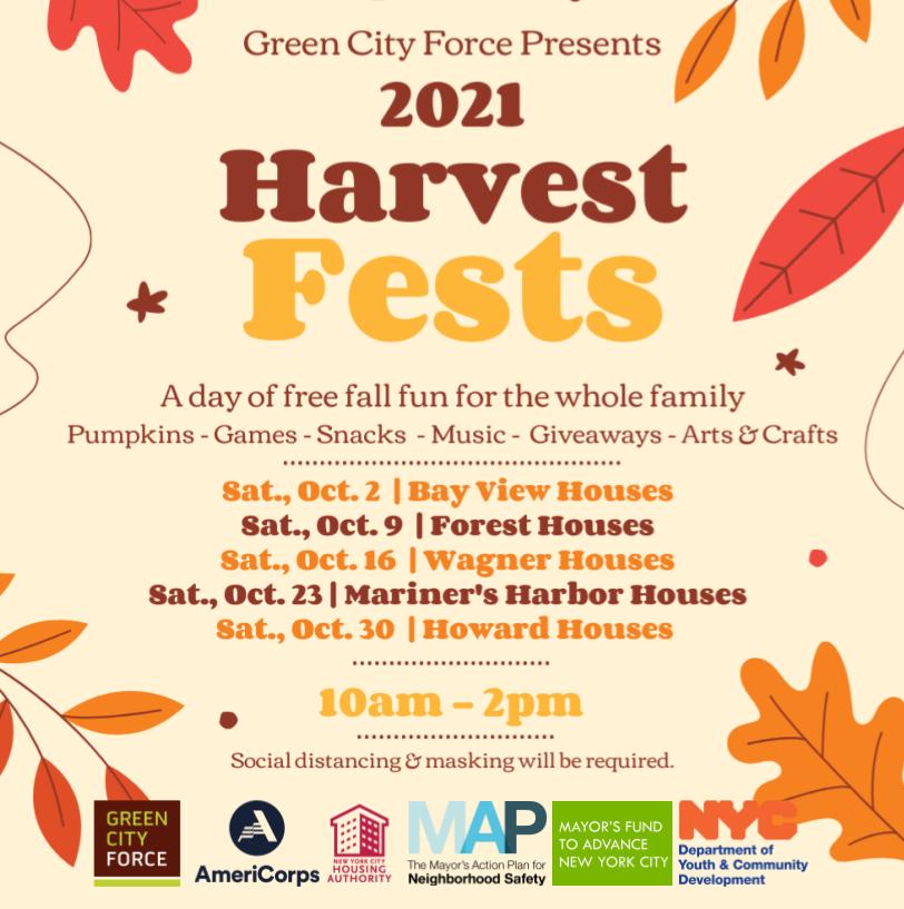 Harvest Festivals are Back!